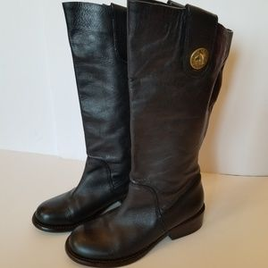 Black leather Marc by Marc Jacobs boots